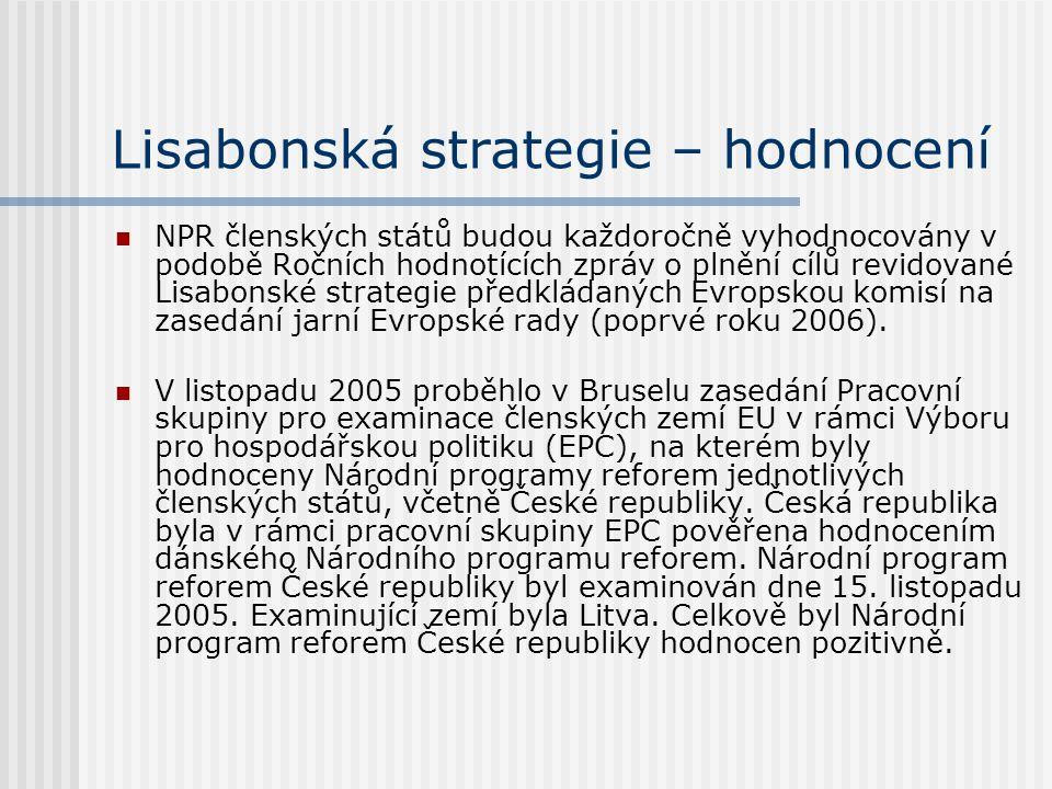Lisabonská strategie – hodnocení