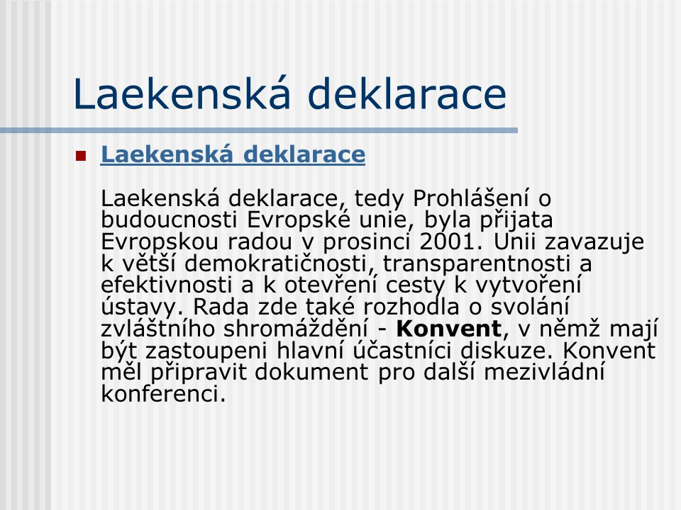 Laekenská deklarace