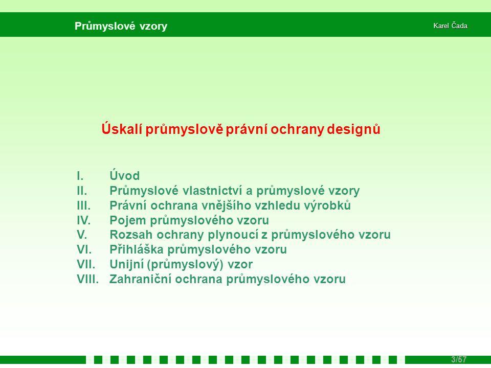 Úskalí průmyslově právní ochrany designů