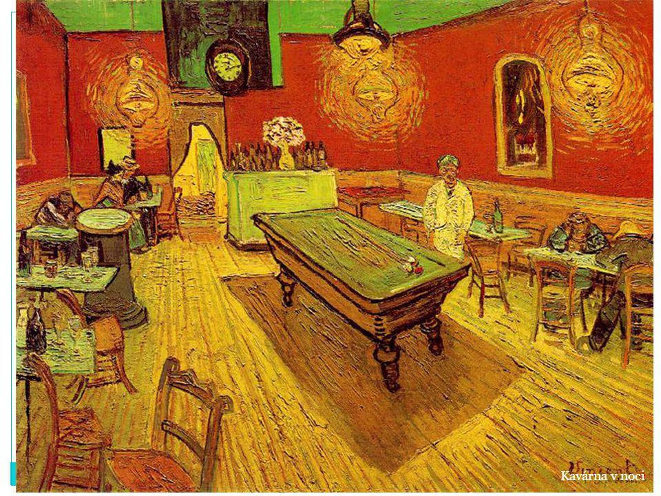Kavárna v noci
