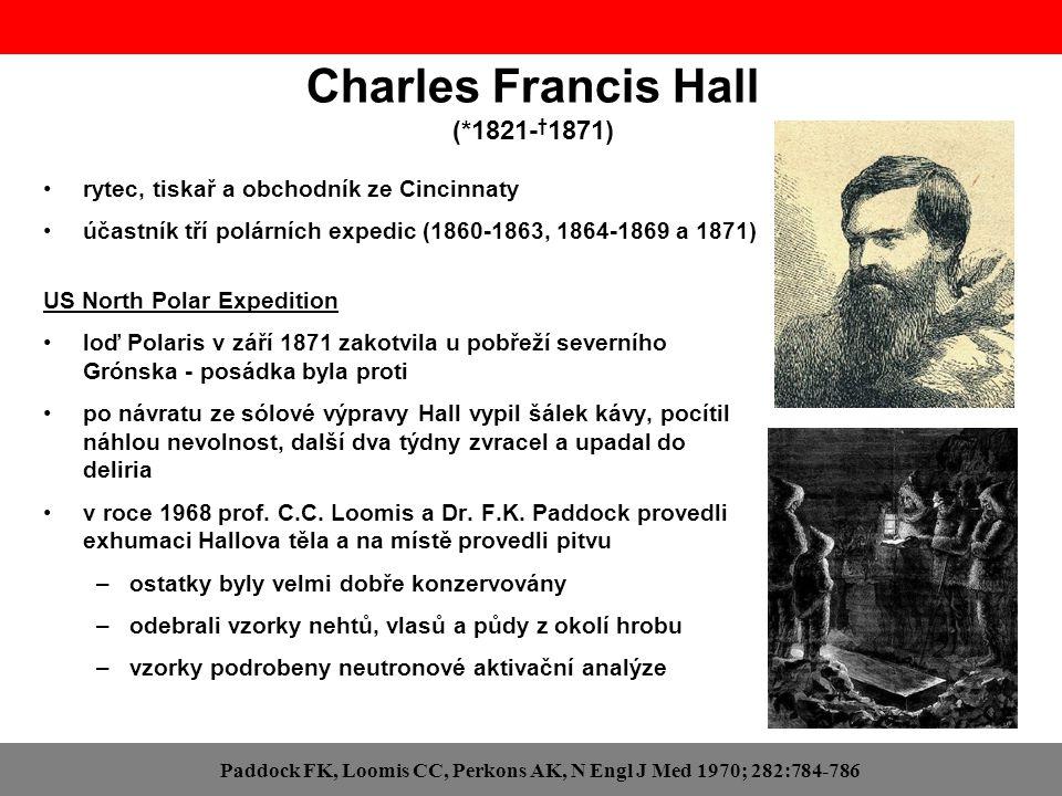 Charles Francis Hall (*1821-†1871)