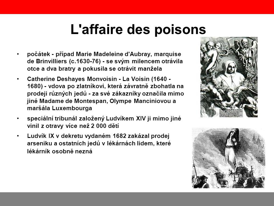L affaire des poisons