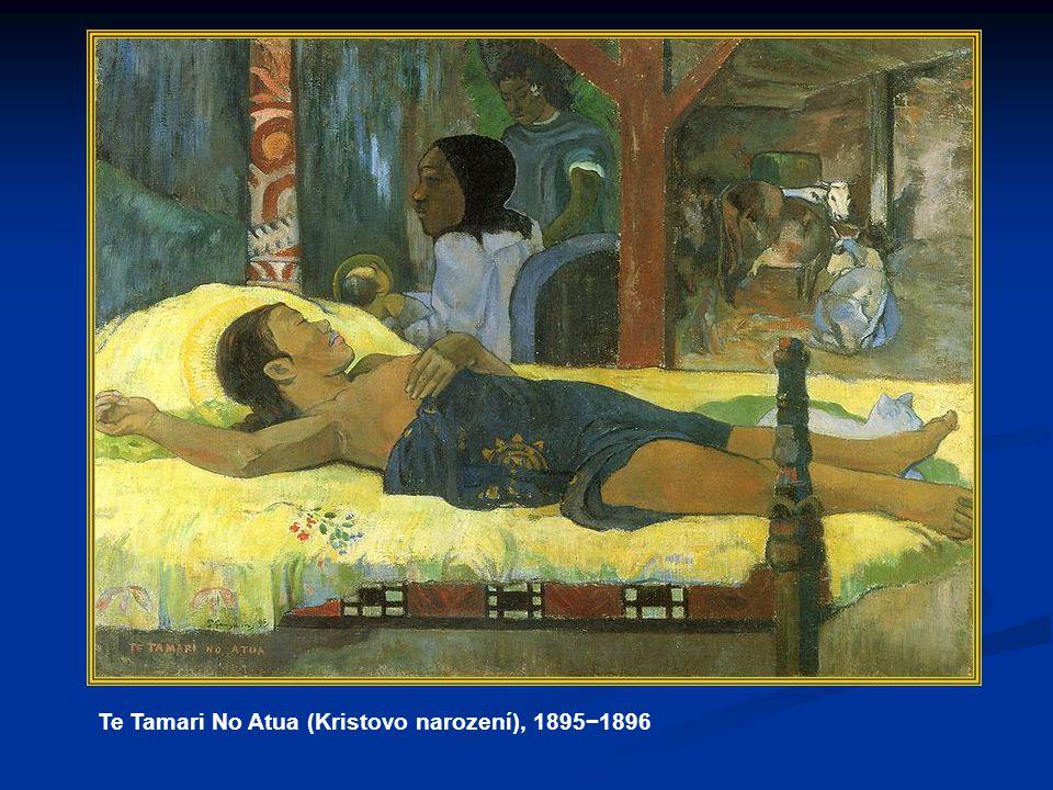 Te Tamari No Atua (Kristovo narození), 1895−1896