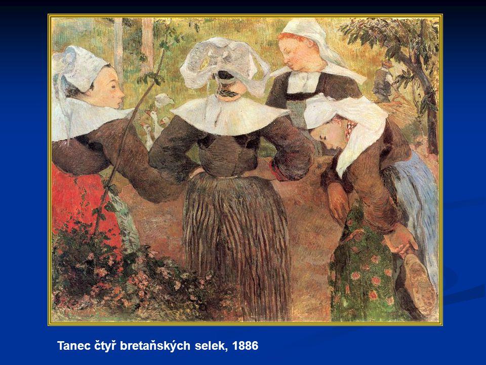 Tanec čtyř bretaňských selek, 1886