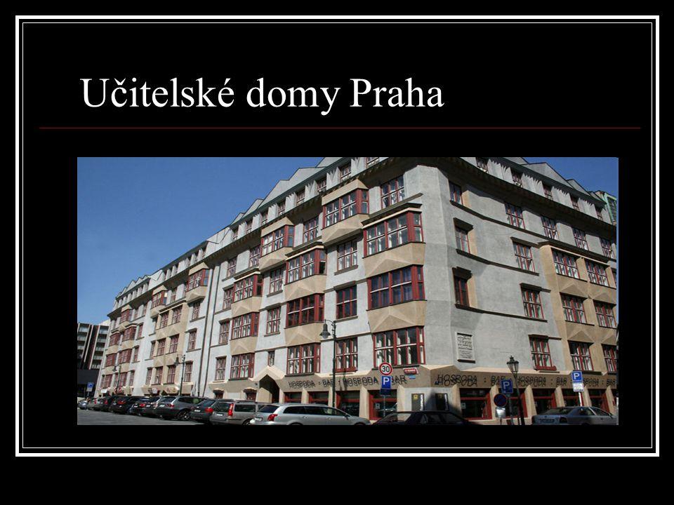 Učitelské domy Praha