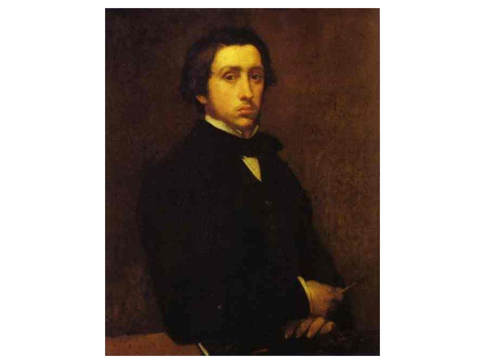 Autoportrét Degas a impresionisté: