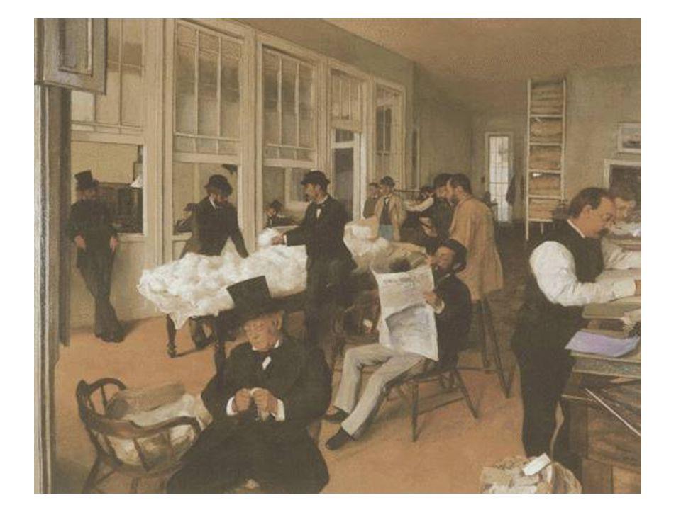 Kancelář obchodu s bavlnou v New Orleans; 1873
