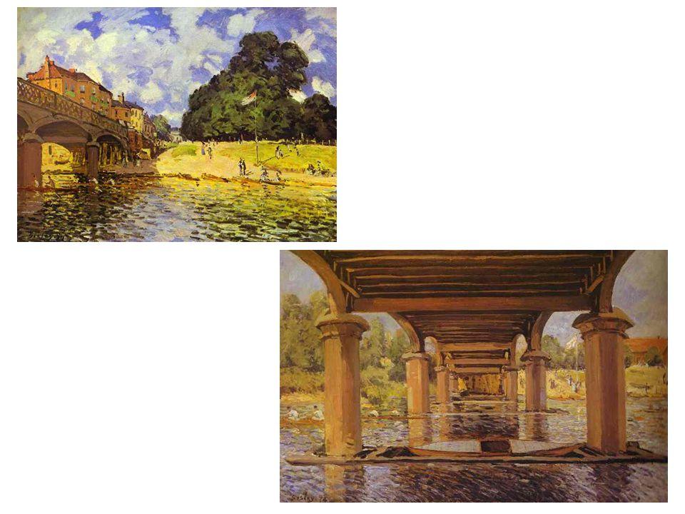 Most v Hampton Court; Pod mostem v Hampton Court