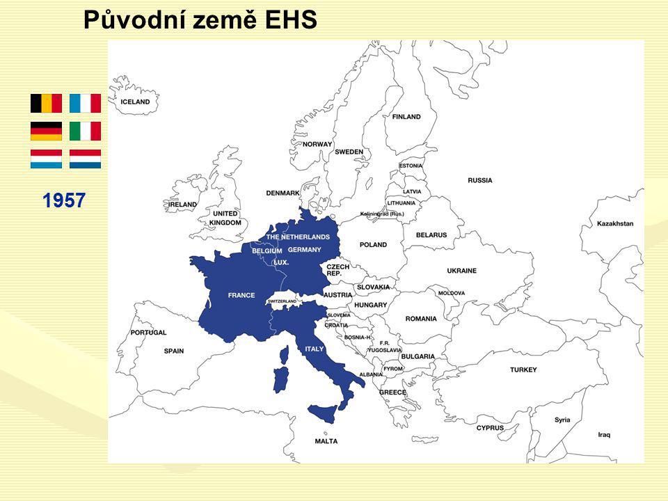 Původní země EHS 1957