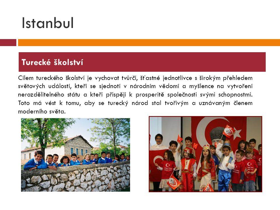 Istanbul Turecké školství