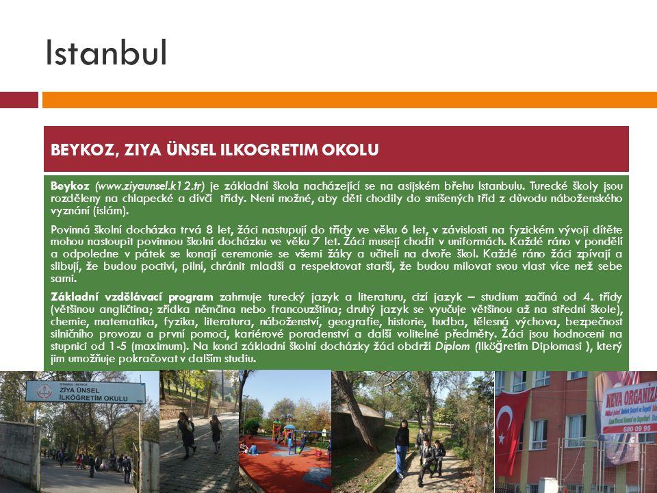Istanbul BEYKOZ, ZIYA ÜNSEL ILKOGRETIM OKOLU