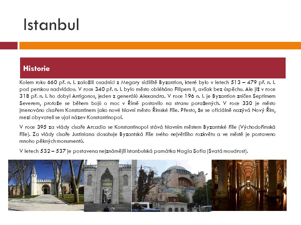 Istanbul Historie.