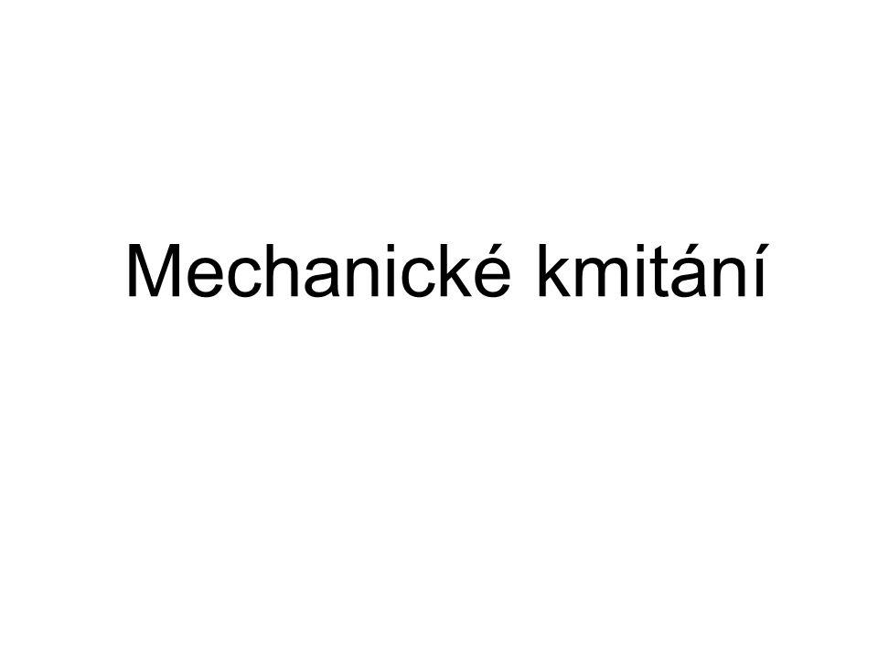 Mechanické kmitání