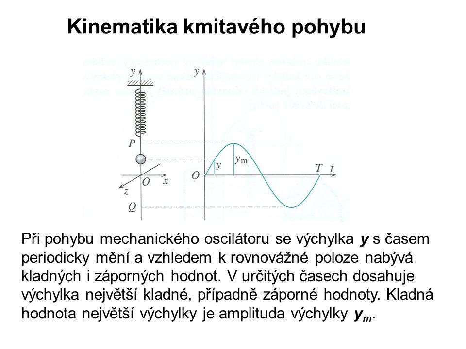 Kinematika kmitavého pohybu