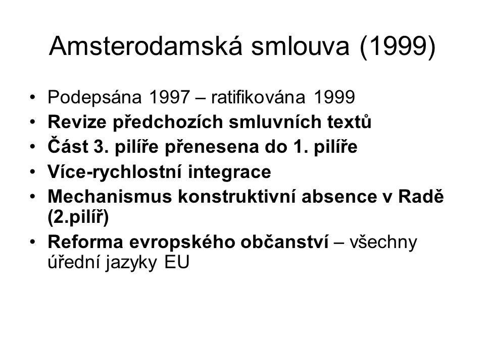 Amsterodamská smlouva (1999)