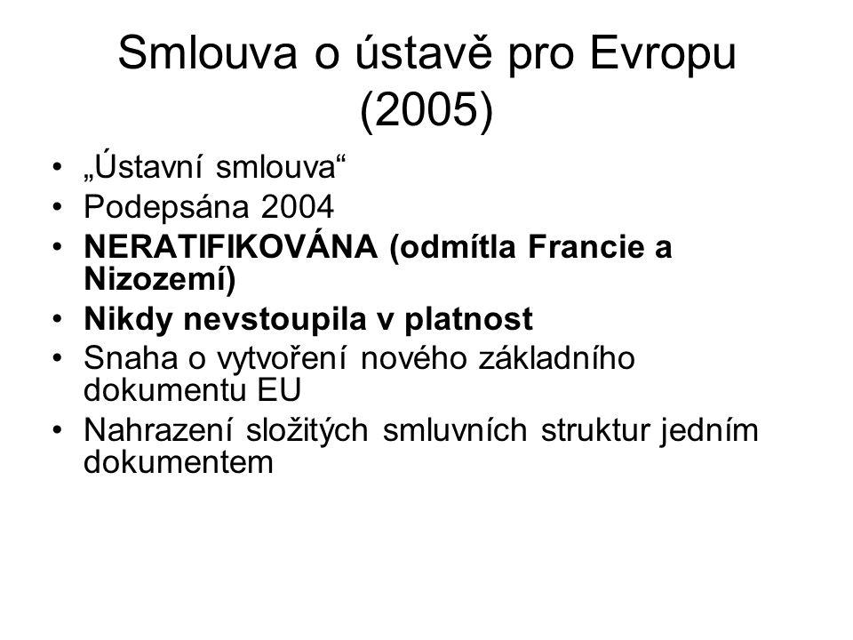 Smlouva o ústavě pro Evropu (2005)