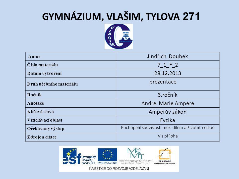 GYMNÁZIUM, VLAŠIM, TYLOVA 271