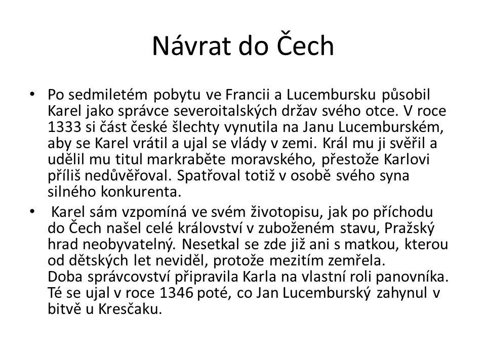 Návrat do Čech