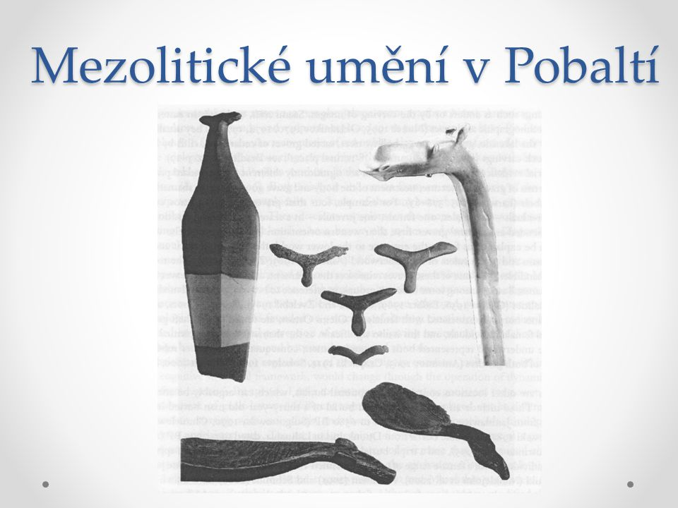 Mezolitické umění v Pobaltí