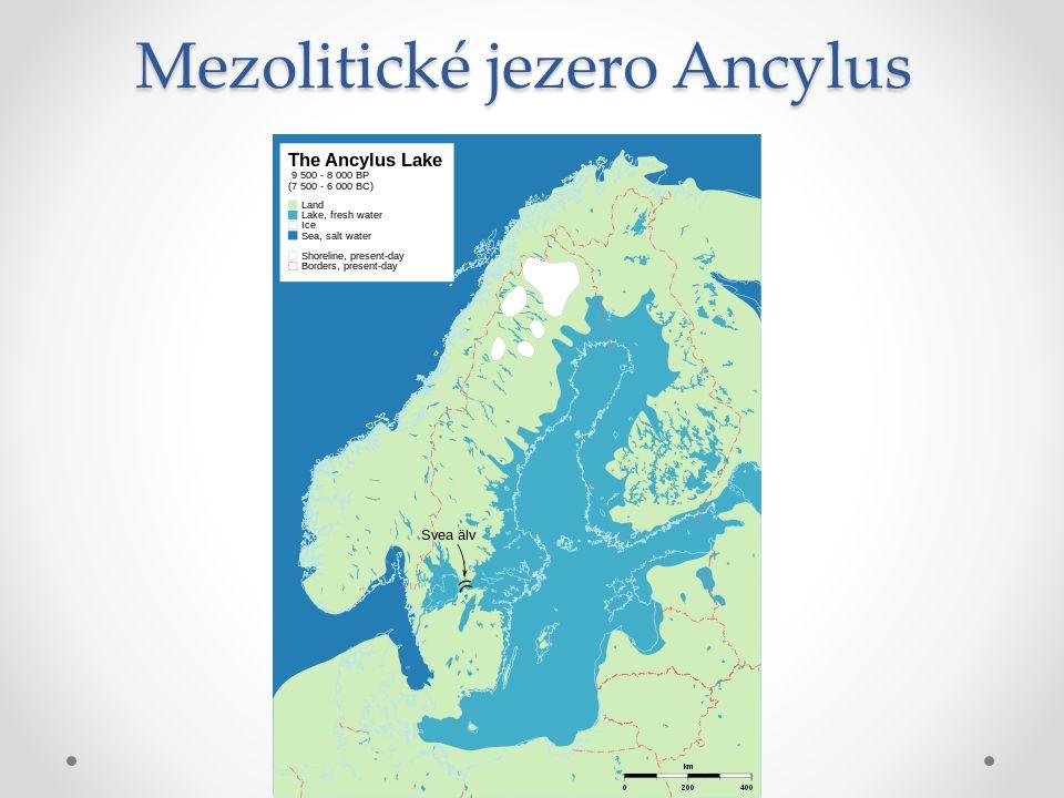 Mezolitické jezero Ancylus