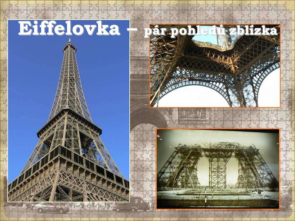 Eiffelovka – pár pohledů zblízka