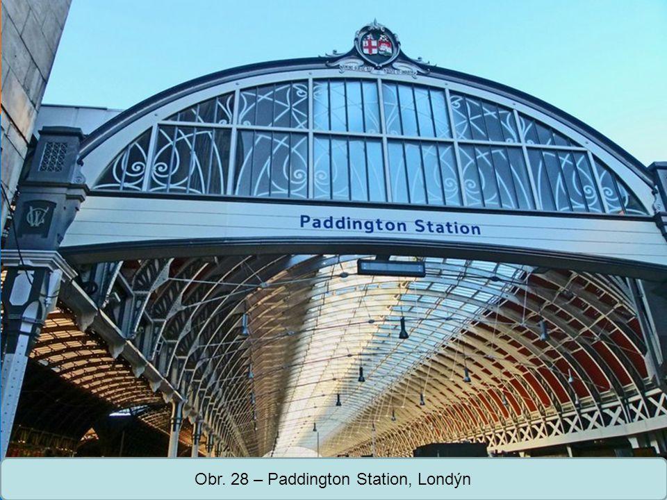 Obr. 28 – Paddington Station, Londýn