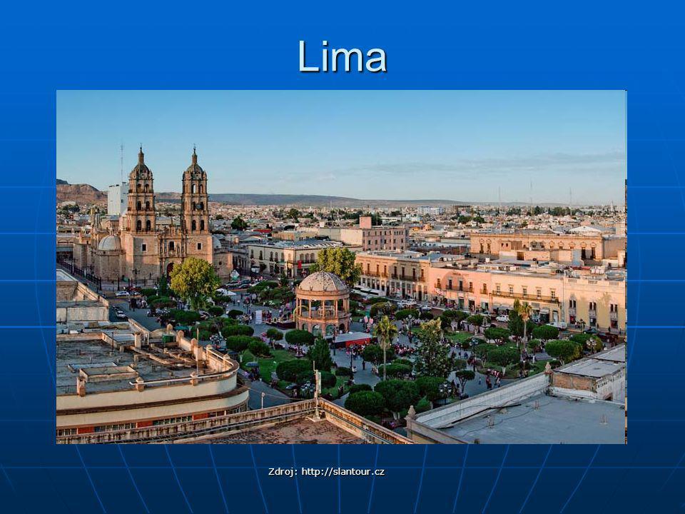 Lima Zdroj: http://slantour.cz