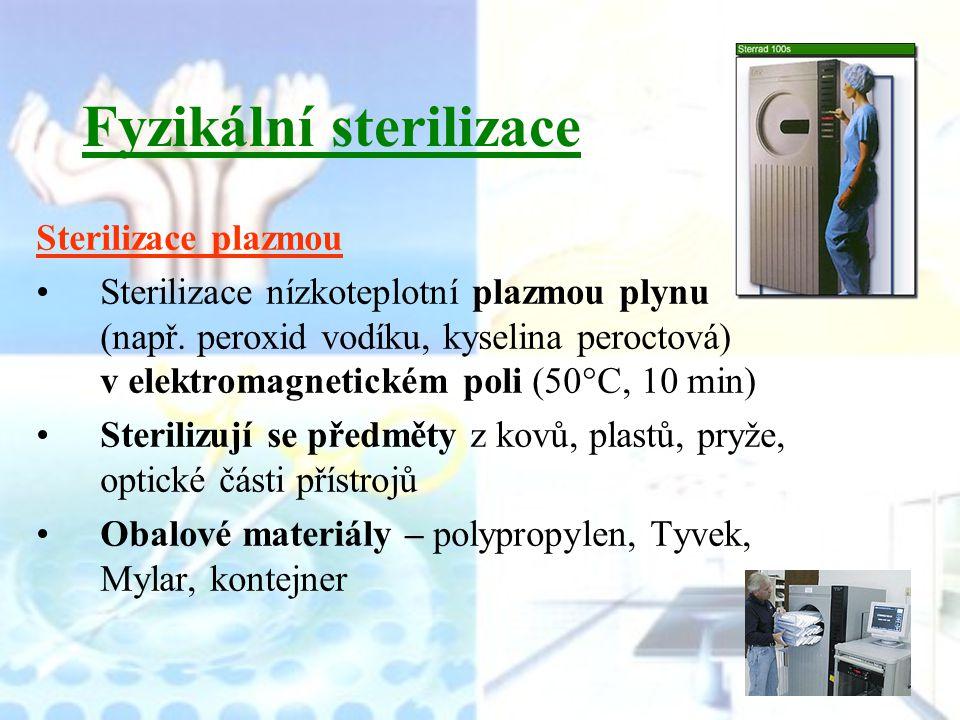 Fyzikální sterilizace