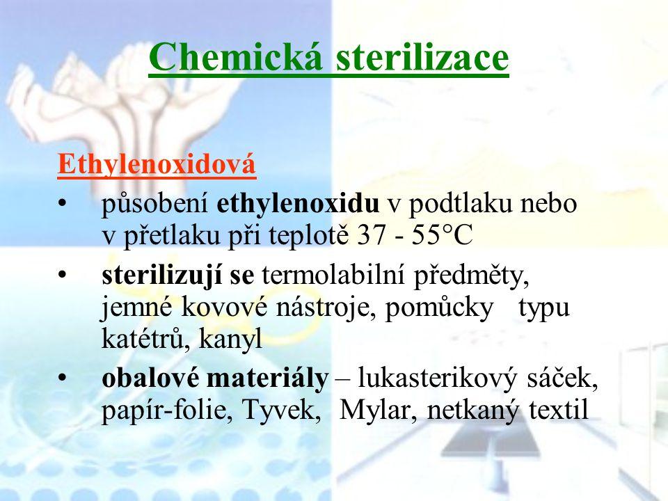 Chemická sterilizace Ethylenoxidová