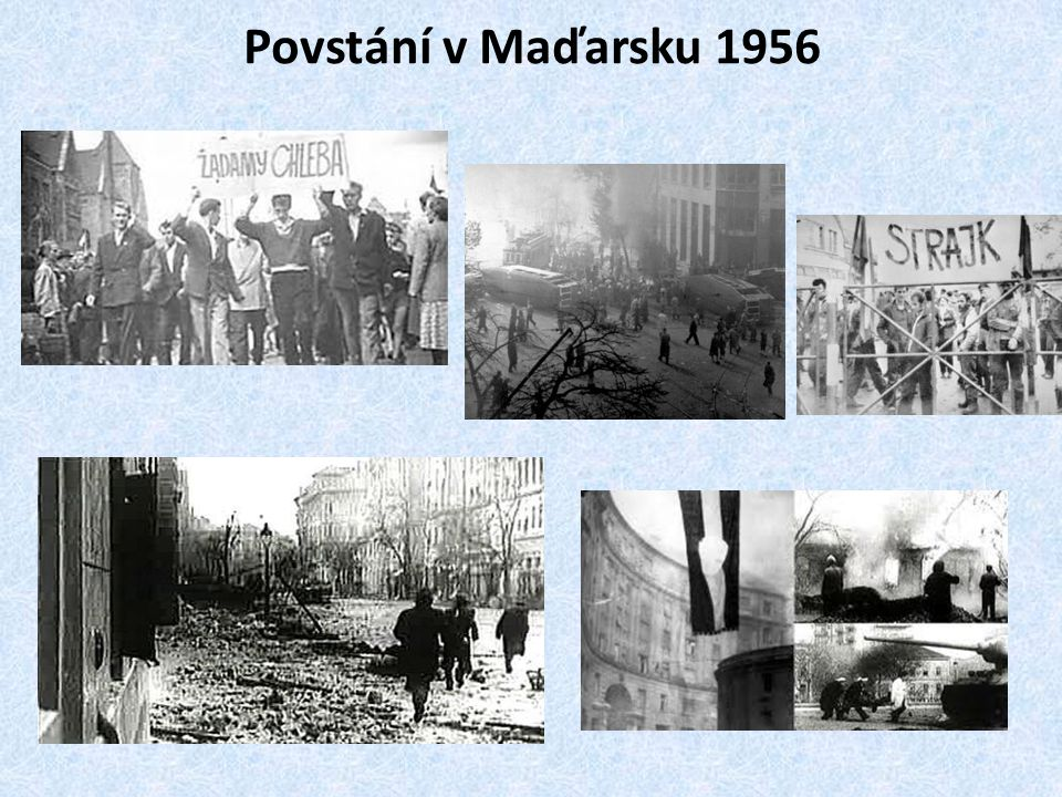 Povstání v Maďarsku 1956
