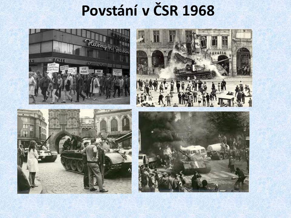 Povstání v ČSR 1968