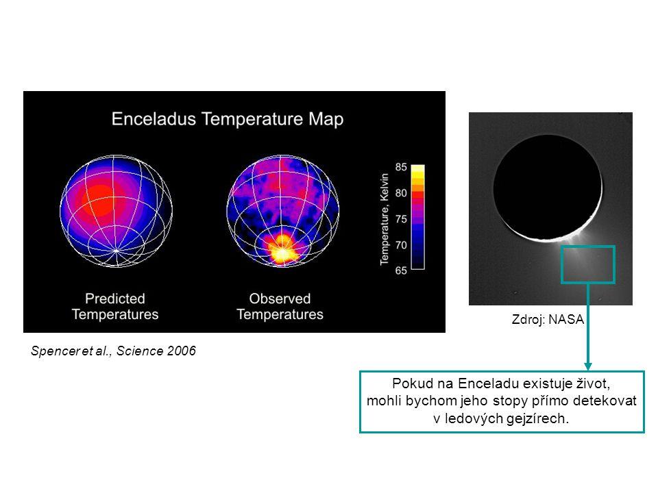 Pokud na Enceladu existuje život,