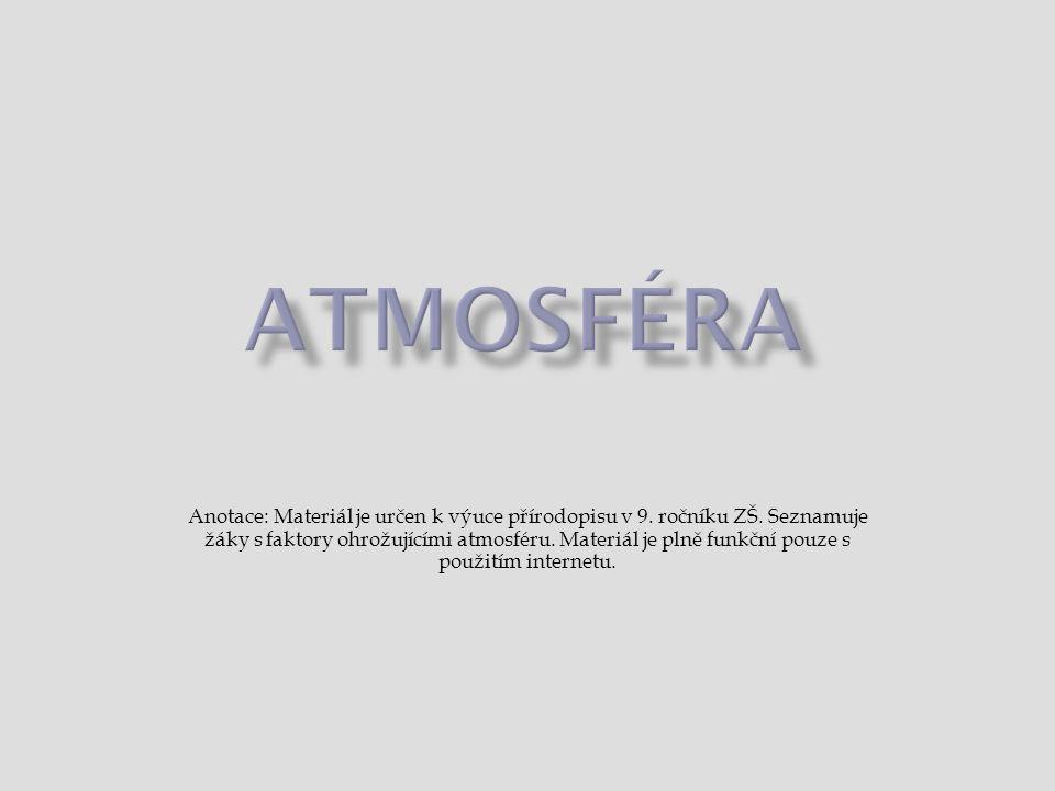 Atmosféra