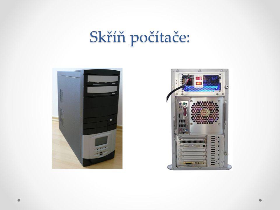 Skříň počítače: