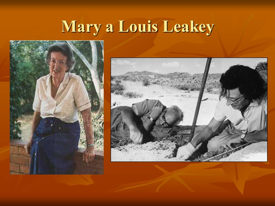 Mary a Louis Leakey