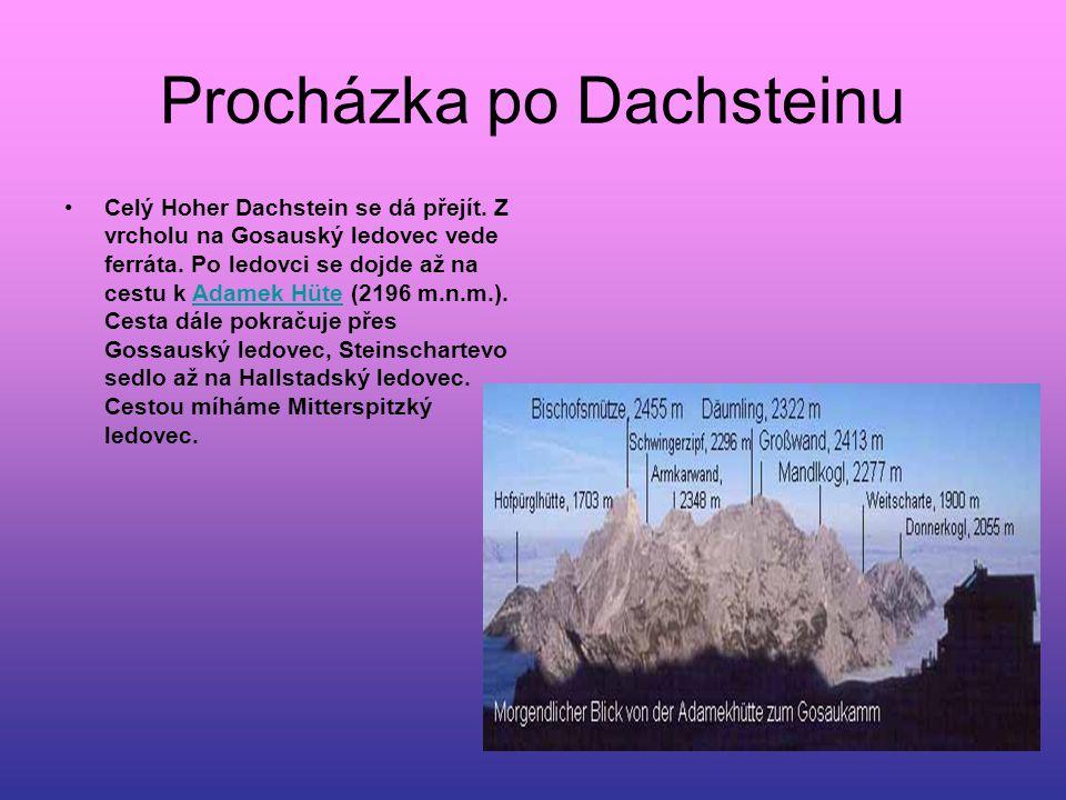 Procházka po Dachsteinu