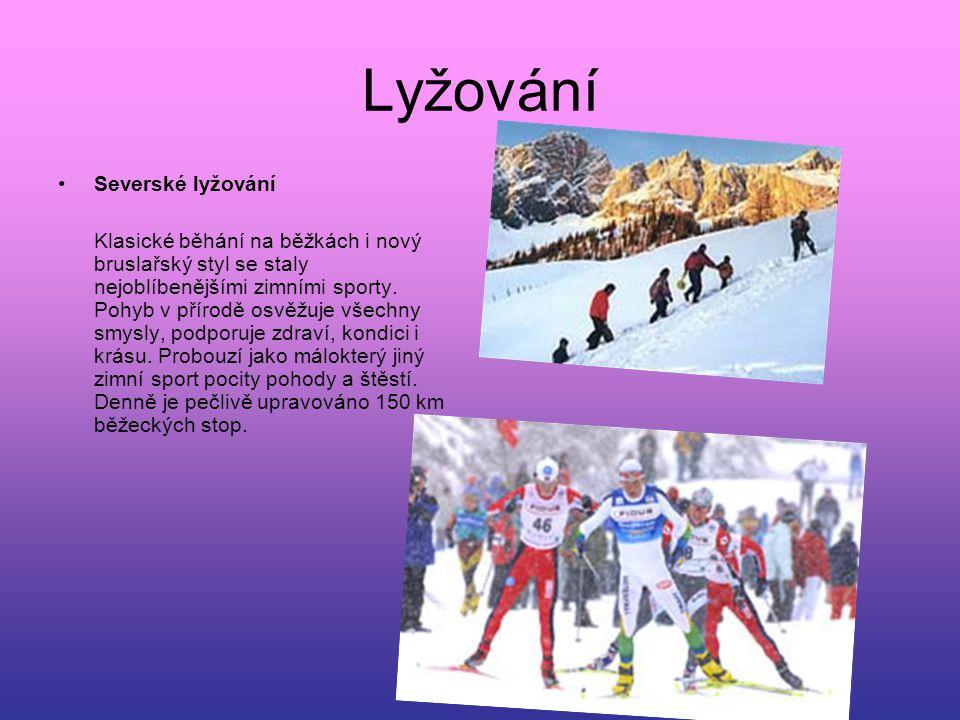Lyžování Severské lyžování