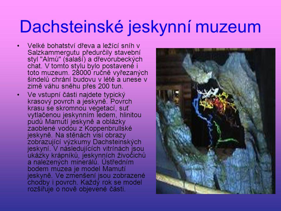 Dachsteinské jeskynní muzeum