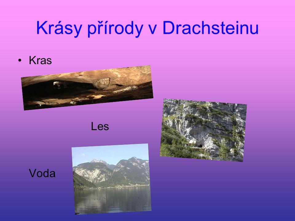 Krásy přírody v Drachsteinu