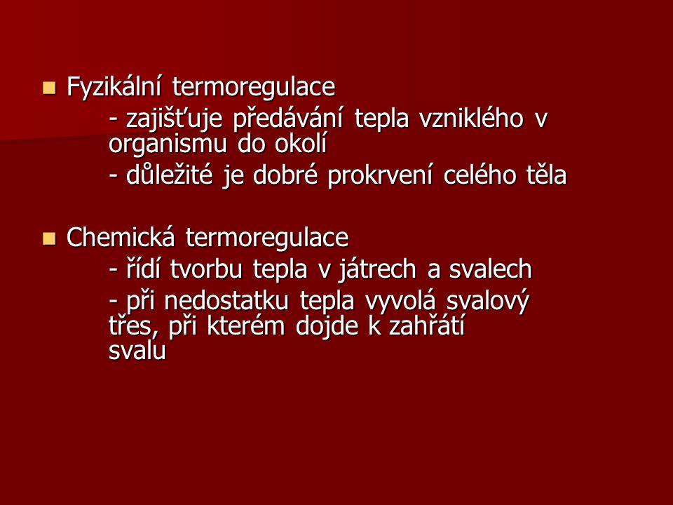 Fyzikální termoregulace