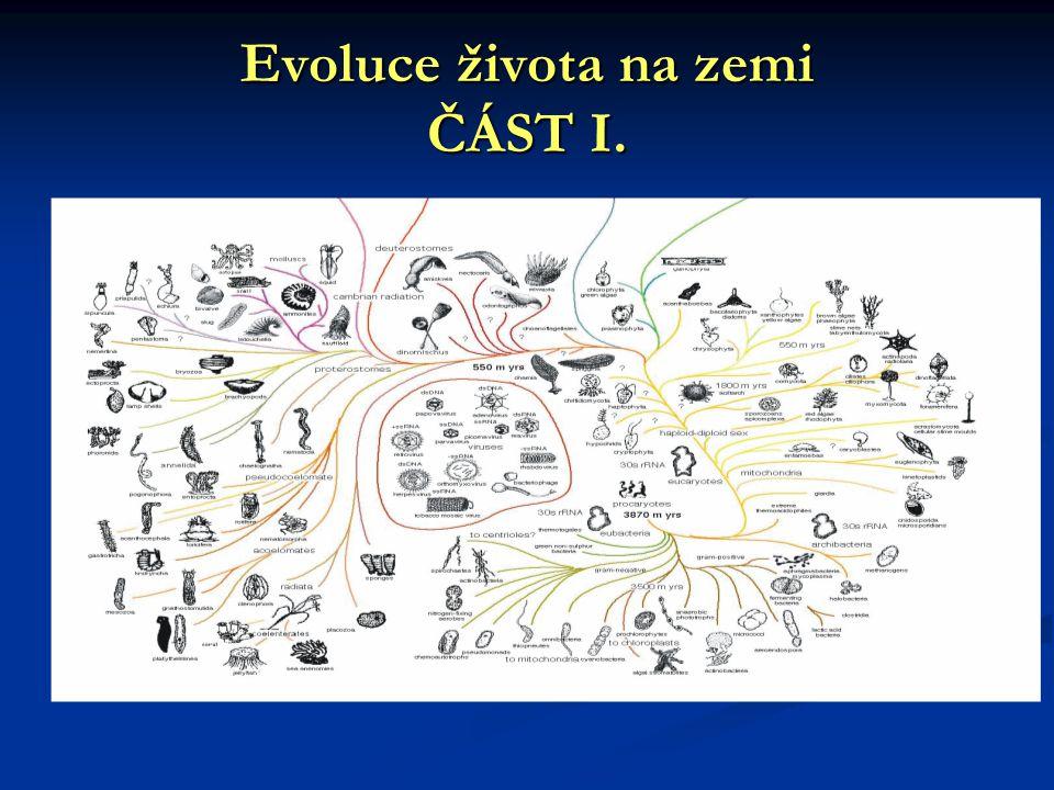 Evoluce života na zemi ČÁST I.