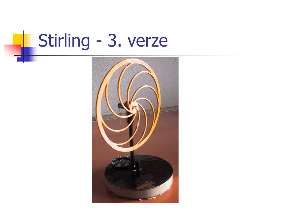 Stirling - 3. verze