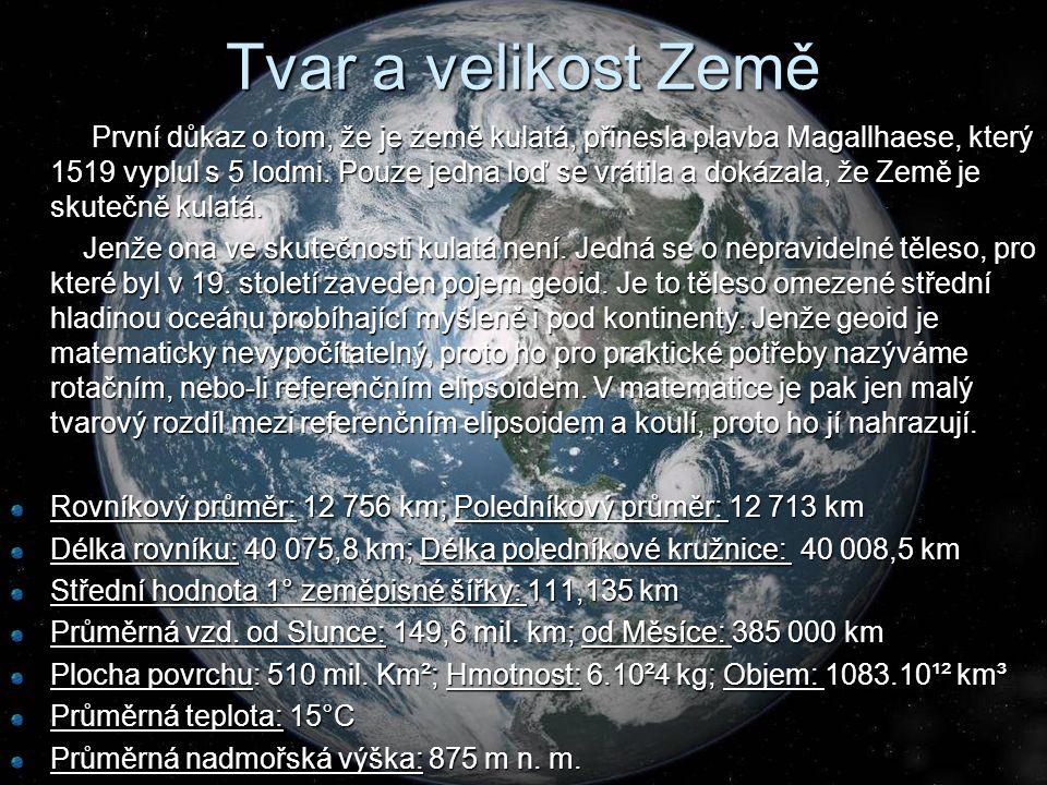 Tvar a velikost Země