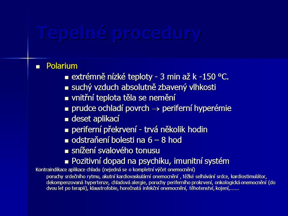 Tepelné procedury Polarium