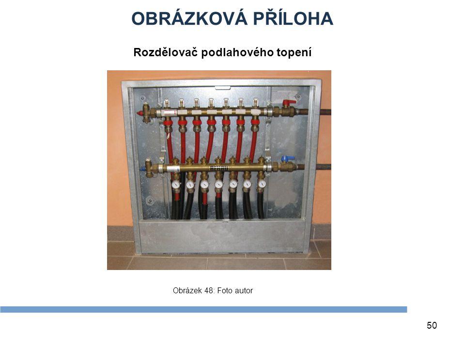 OBRÁZKOVÁ PŘÍLOHA Rozdělovač podlahového topení Zdroje