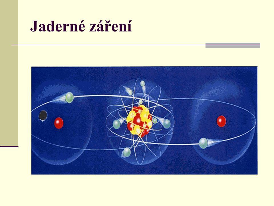 Jaderné záření