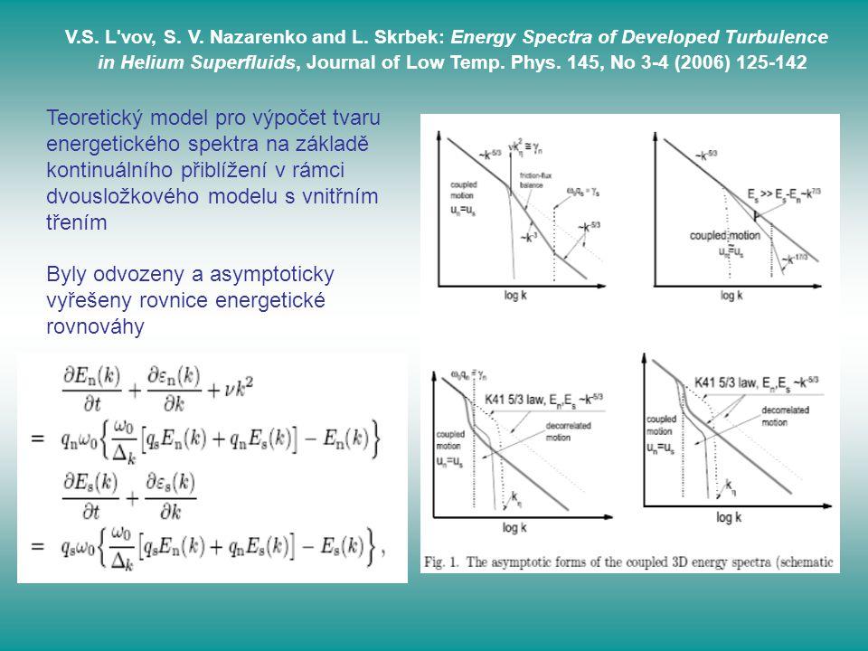 Byly odvozeny a asymptoticky vyřešeny rovnice energetické rovnováhy