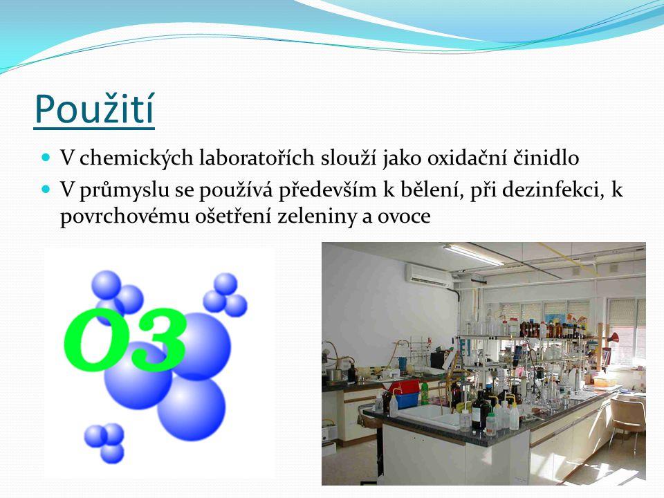 Použití V chemických laboratořích slouží jako oxidační činidlo