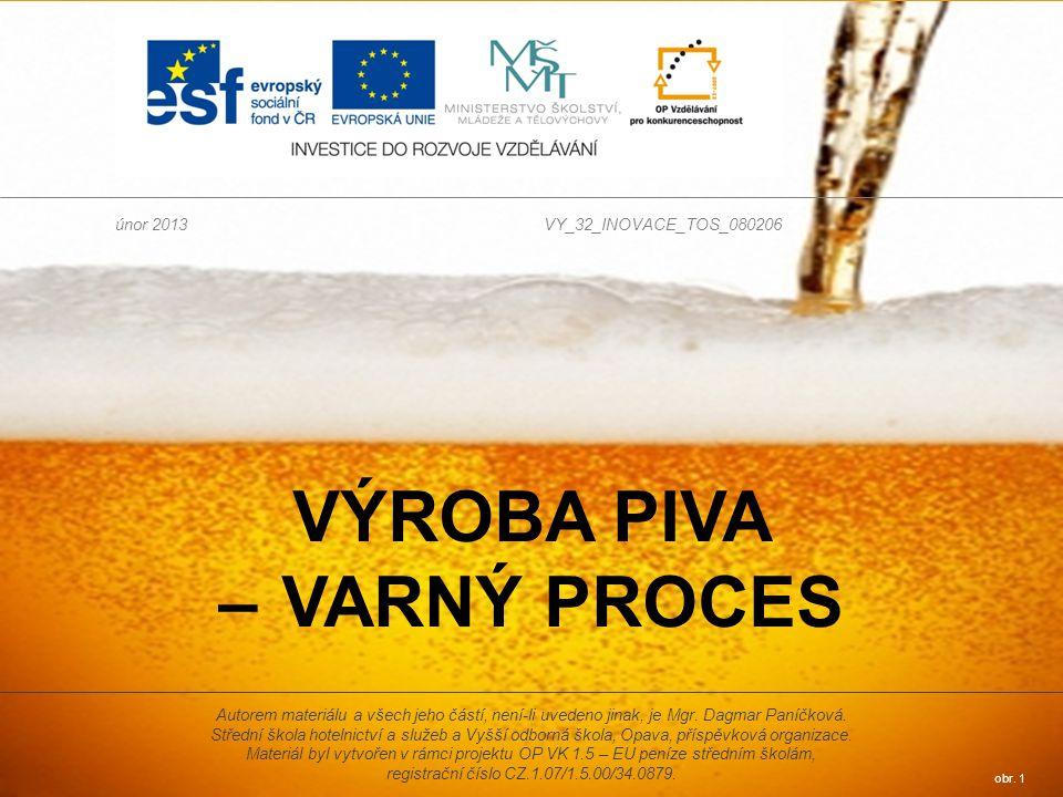 Výroba piva – varný proces