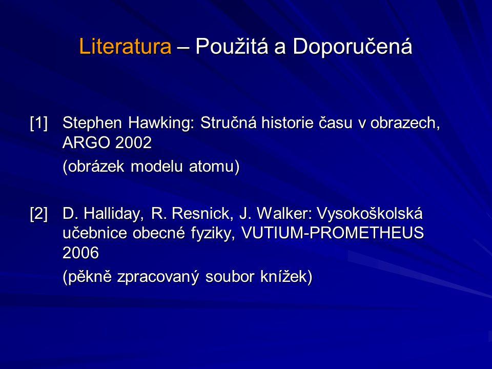 Literatura – Použitá a Doporučená